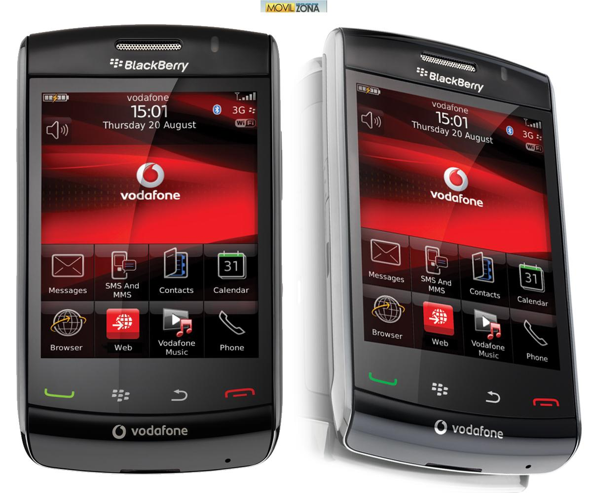 Blackberry Storm Specs
