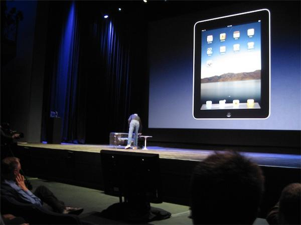 Lanzamiento Apple iPad