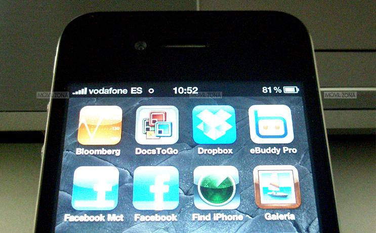 IPHONE 4 MENU VODAFONE