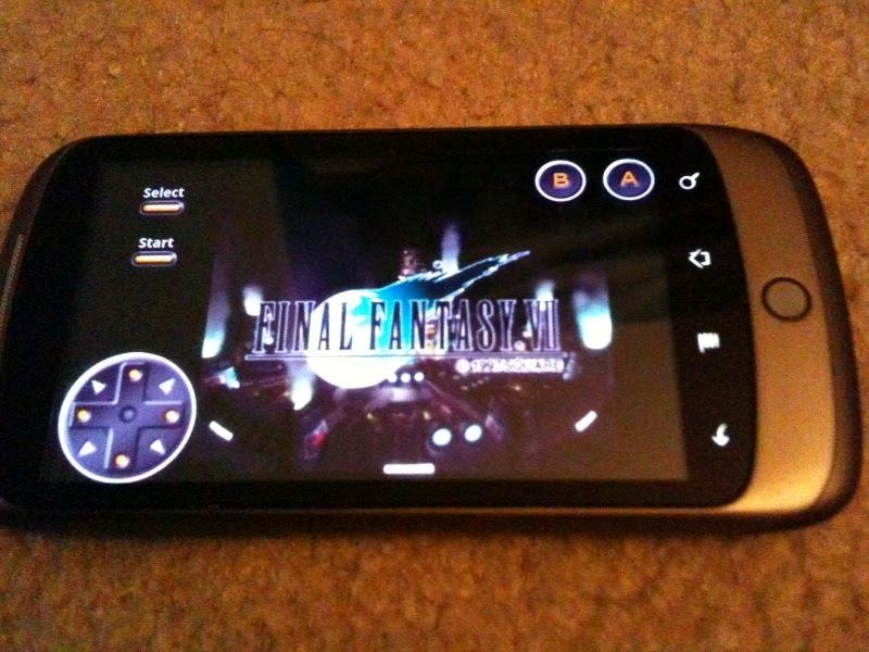 nexus one psx
