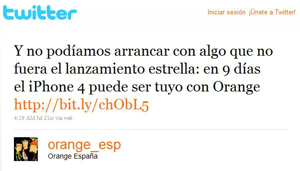 iphone 4 orange twitter 2