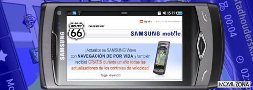SAMSUNG WAVE ROUTE 66 00
