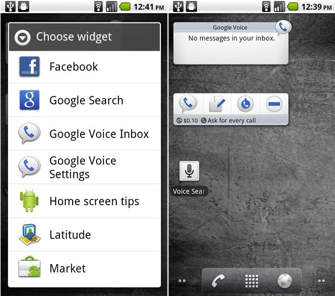 Google Voice en Android