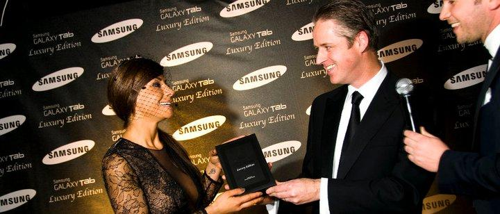 Galaxy tab luxury edition