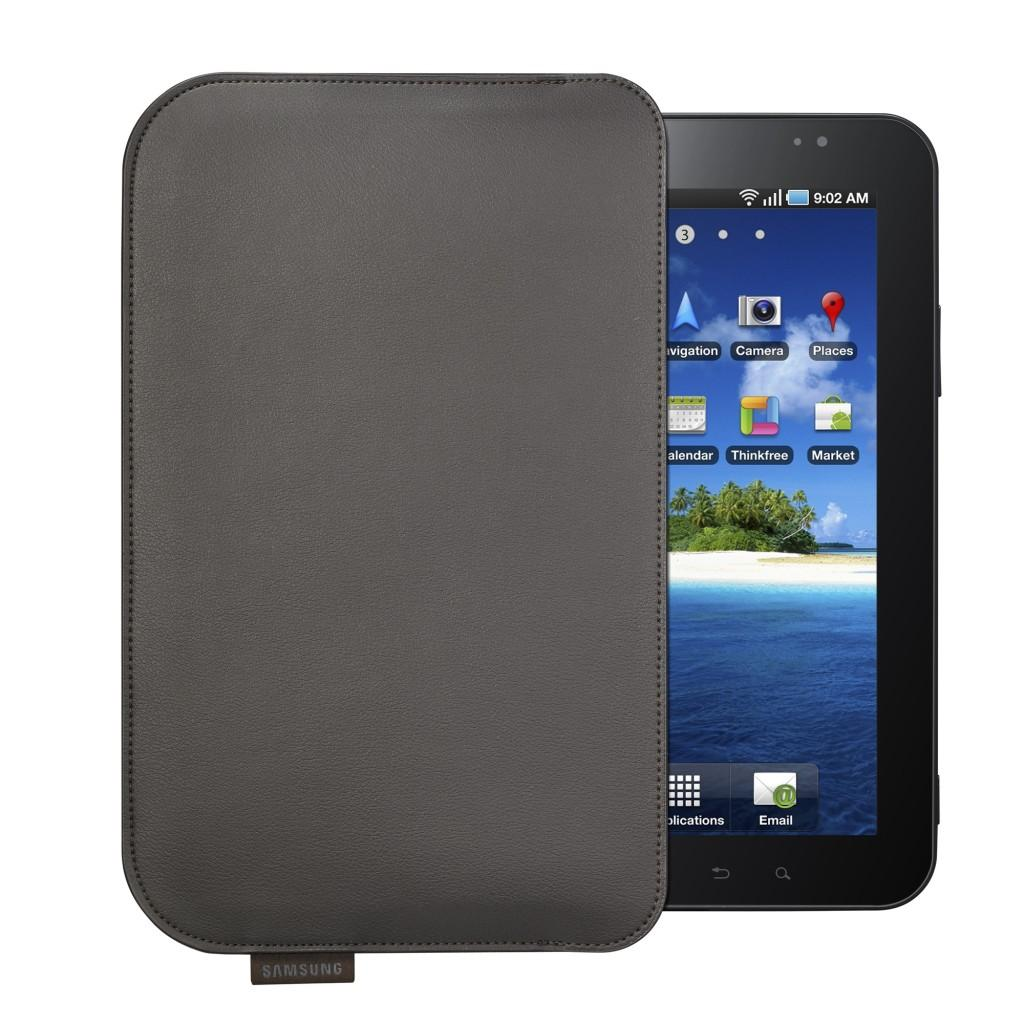 Pouch-dark brown Galaxy Tab