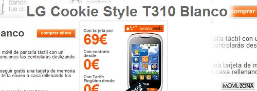 LG COOKIE STYLE ORANGE