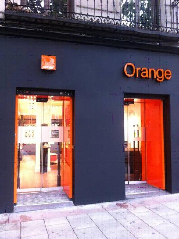 oficinas de orange en madrid