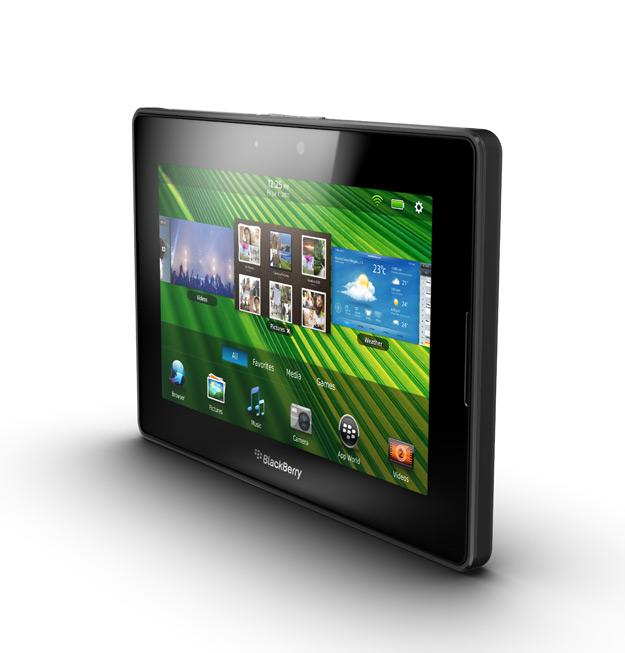BlackBerry PlayBook de 7 pulgadas