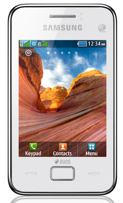 SAMSUNG STAR 3 FRONTAL BLANCO