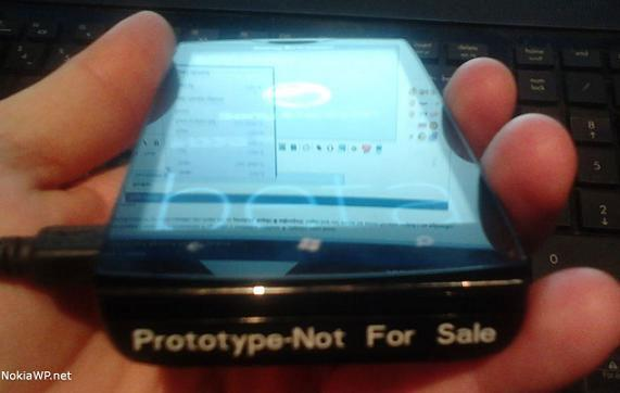 Prototipo de Sony Ericsson con Windows Phone