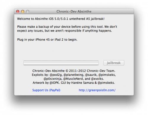 Jailbreak IPhone 4s Y IPad 2