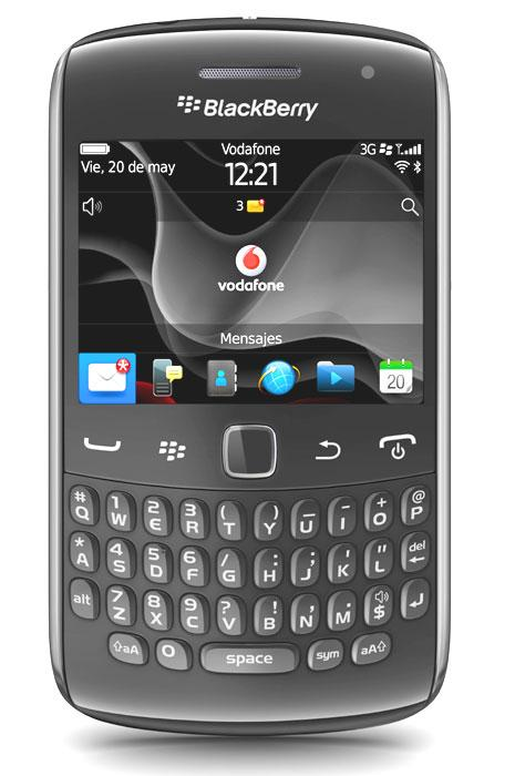 BlackBerry Curve 9360 vodafone frontal
