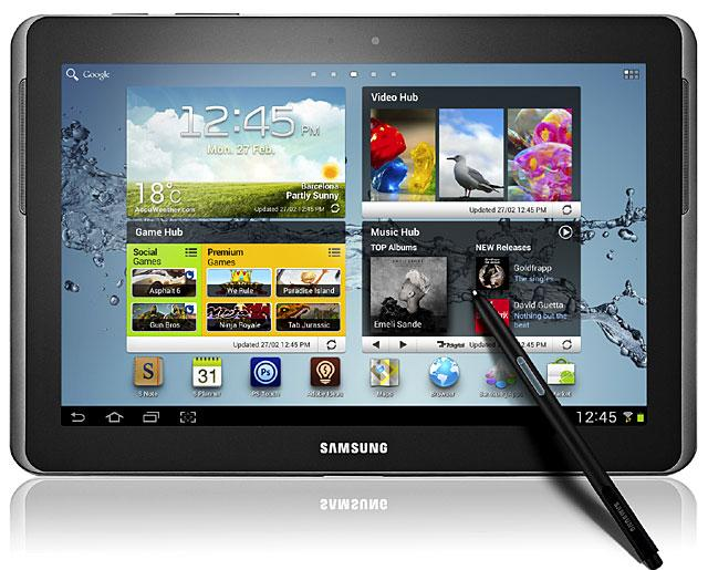 Samsung Galaxy Note 10.1 con S Pen
