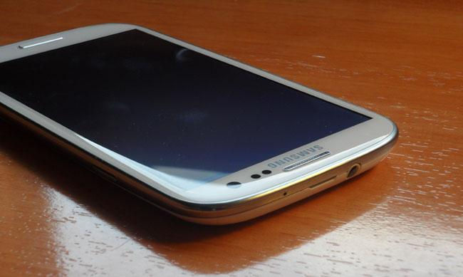 Samsung Galaxy S3 frontal