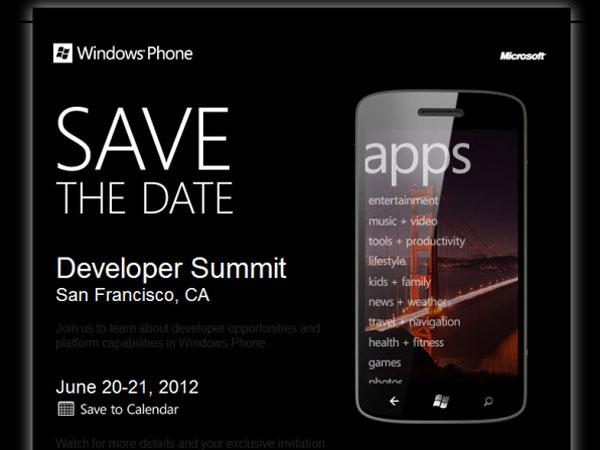 Posible presentación de Windows Phone 8