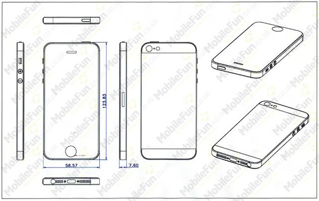 Dimensiones iPhone 5