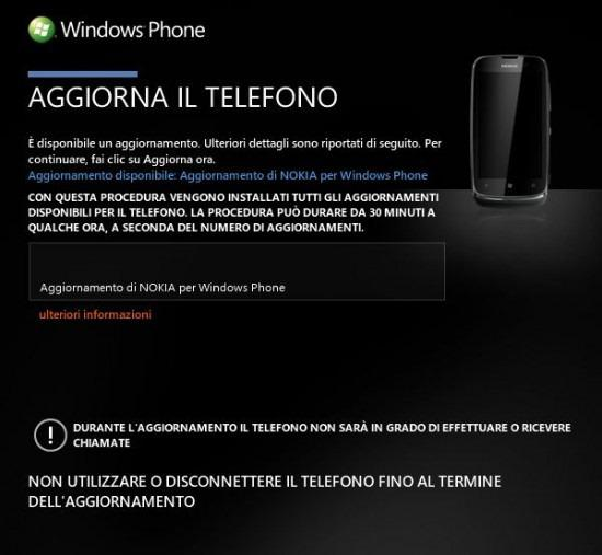 Actualización Windows Phone para los Lumia 900, 710 y 610