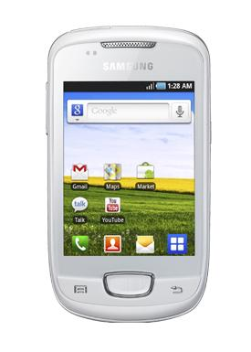 GALAXY MINI BLANCO frontal