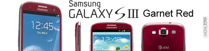Samsung Galaxy S3 grant red