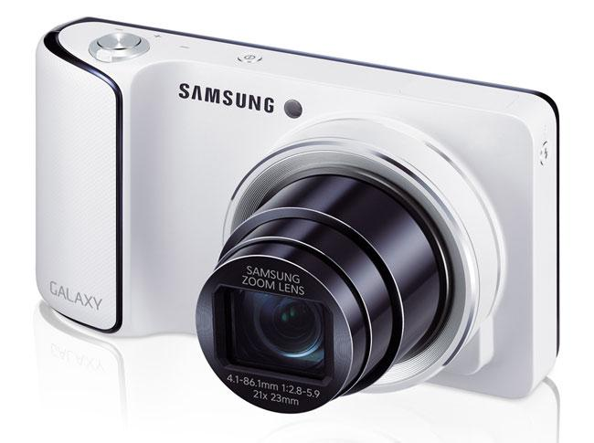 Samsung Galaxy Camera frontal