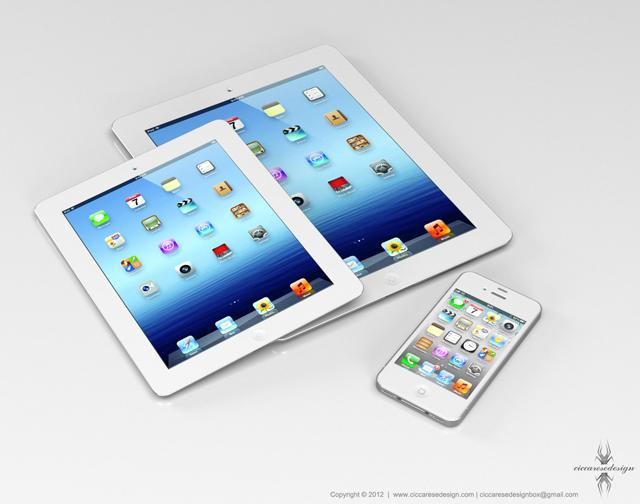 Diseño de iPad Mini
