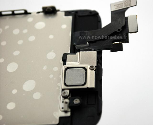 iPhone 5 detalle zona blindada
