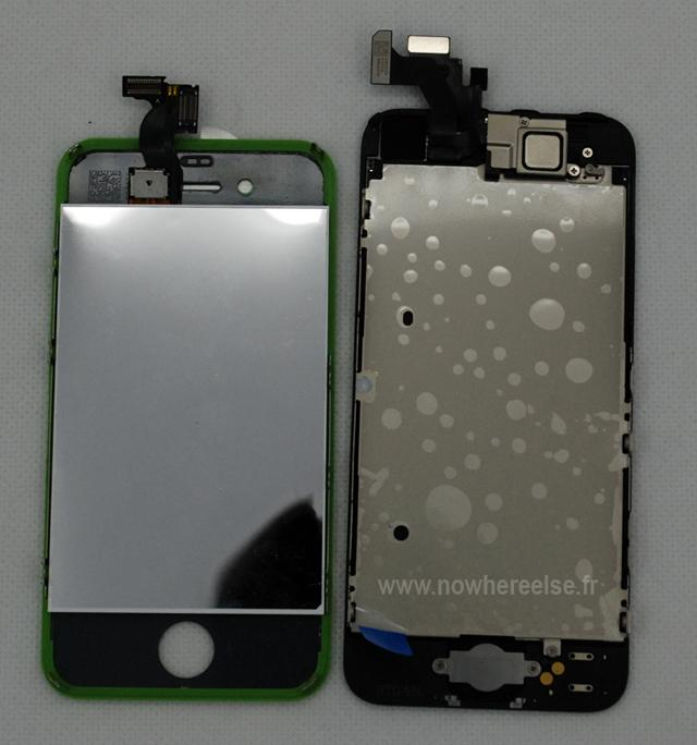 iPhone 5, comparado con iPhone 4S posterior