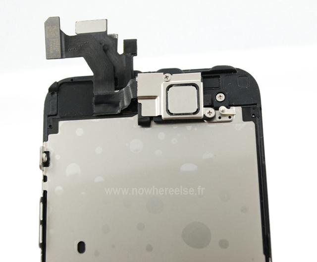 iPhone 5, detalle superior