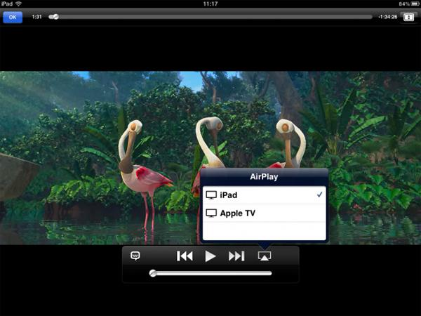 AirPlay para iPad