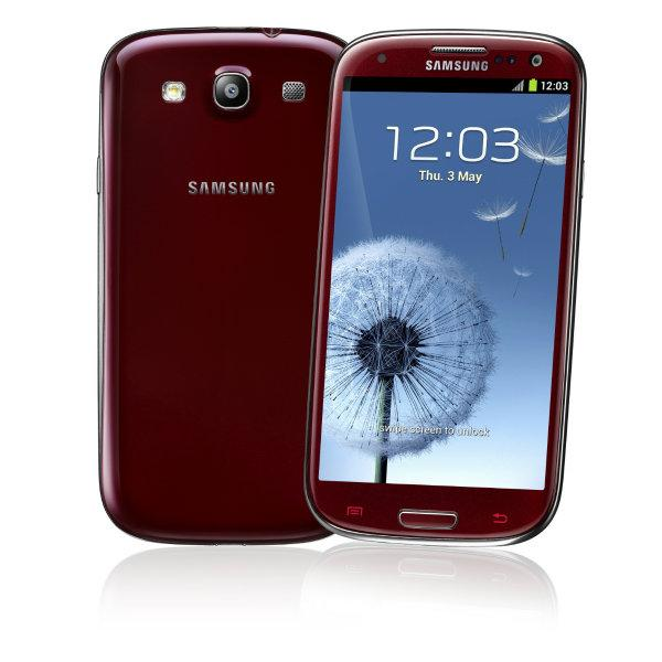 Garnet Red en Samsung Galaxy S3