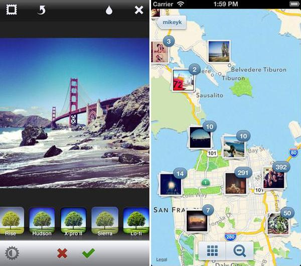 Instagram optimizado para la pantalla del iPhone 5