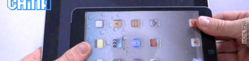 Maqueta del iPad Mini en vídeo