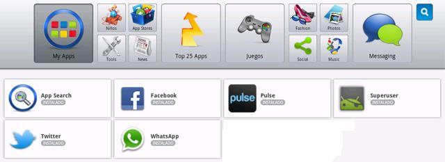 Bluestacks My Apps