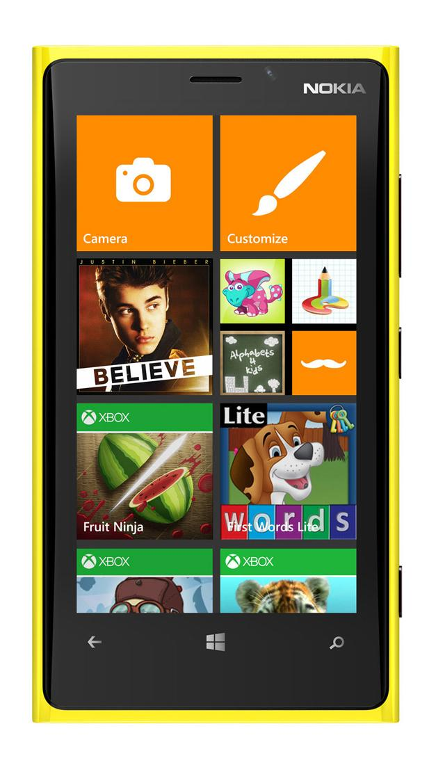 Windows Phone 8, rincón para niños