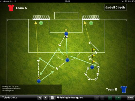 Global Coach de Rafa Benítez para iPad