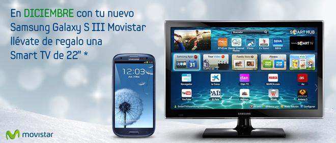 Promoción Samsung Galaxy S3 y Smart TV