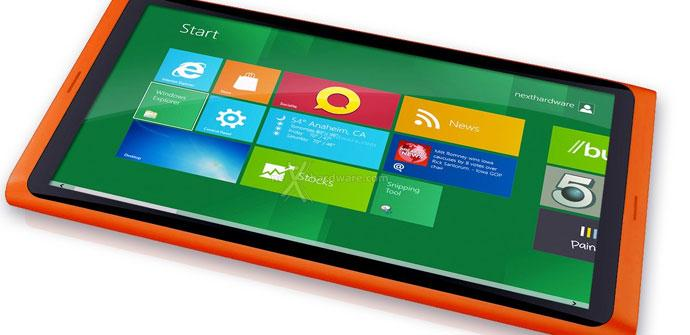 Futura Nokia Tablet con sistema operativo Windows