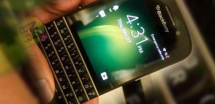Blackberry 10 con teclado qwerty