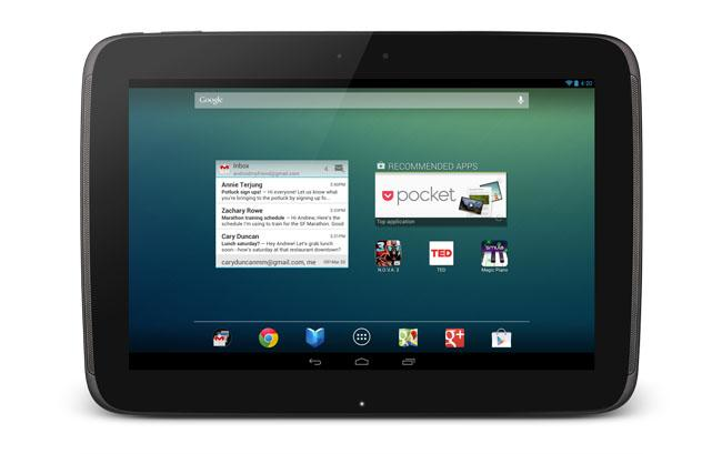 Tablet Google Nexus 10