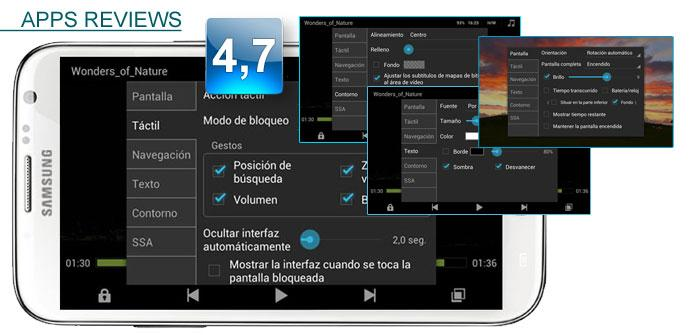 Reproducor MX Player para Android