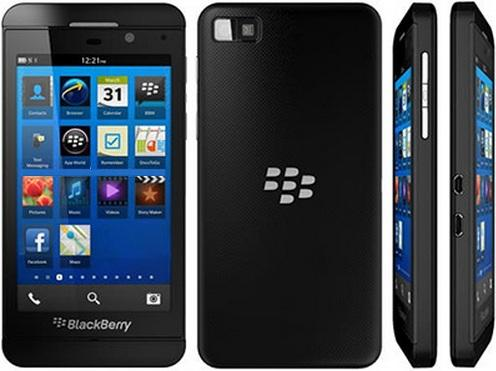 Diseño del BlackBerry Z10