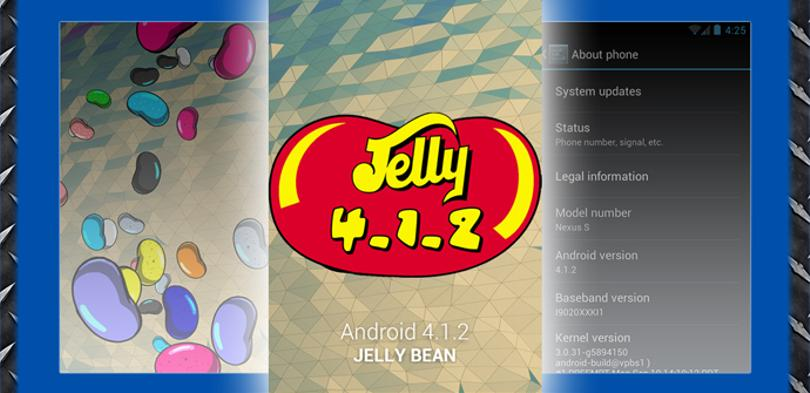 Android Jelly Bean 4.1.2
