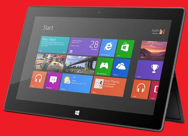 Tablet Surface Windows RT