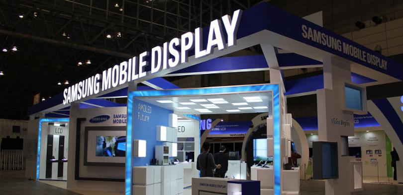 Stand de Samsung Display