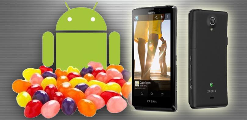Sony Xperia T con Jelly Bean