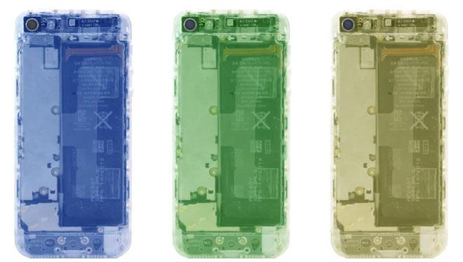 Colores transparentes para el iPhone5mod