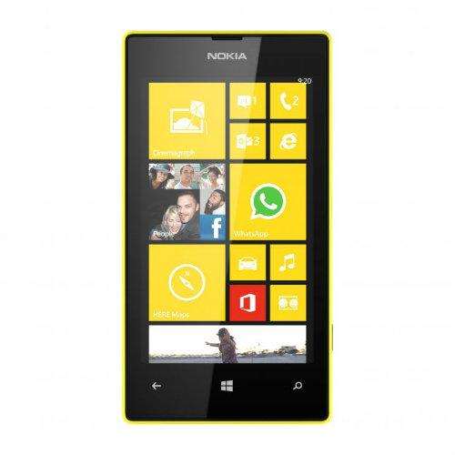 Front of the new Nokia Lumia 520