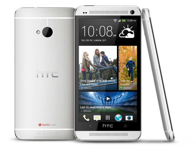 HTC One color plata