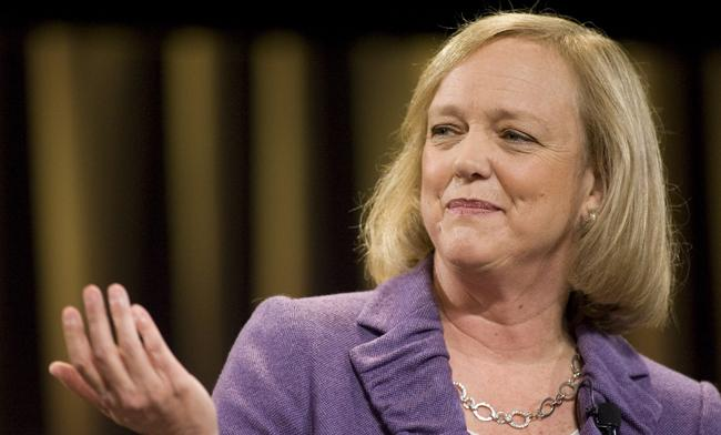 Meg Whitman, CEO de HP