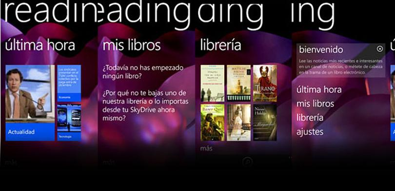 Nokia Reading capturas